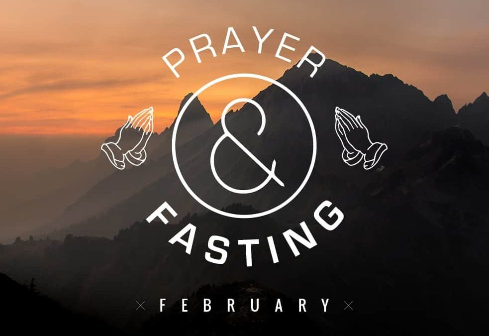 Praying and Fasting 2016